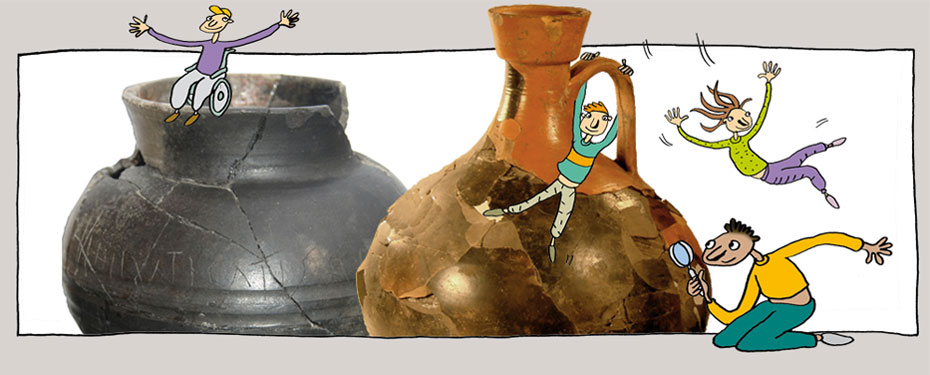 sortie archeologique classe découverte